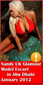 Sandy UK Glamour Model Escort -