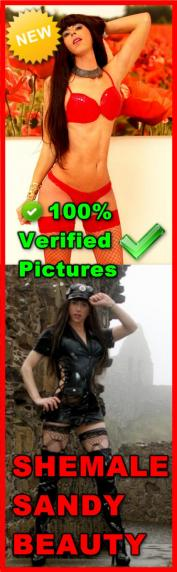 SHEMALE SANDY BEAUTY now in DUBAI